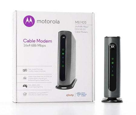 Motorola 16x4 Cable Modem