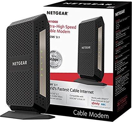 NETGEAR DOCSIS 3.1 Gigabit Cable Modem cm1000