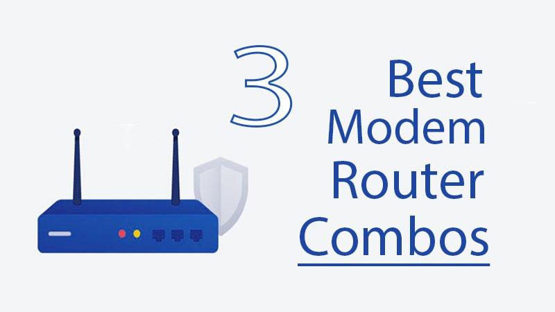 best cable modem router combos