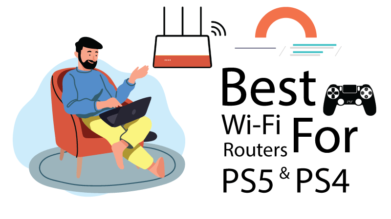 best wi-fi routers for PS4 & PS5