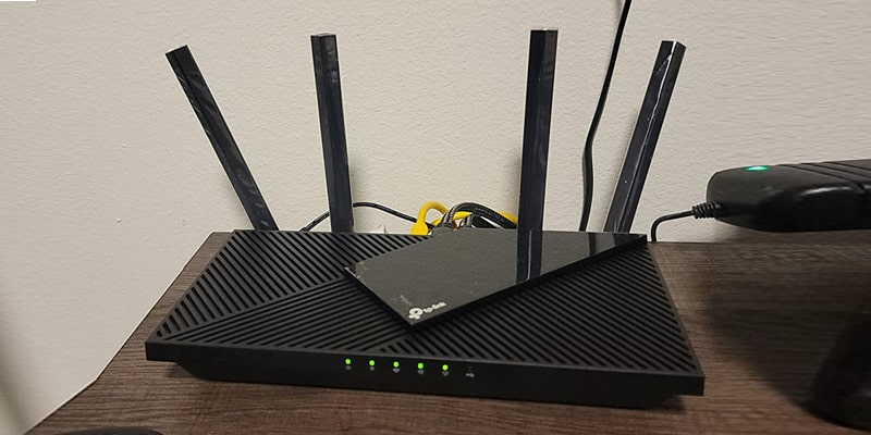 TP-Link WiFi 6 Router AX1800 Smart WiFi Router (Archer AX21)